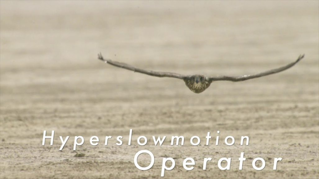 Cineflex and HyperSlowMotion operator